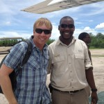 John with our Duma Tau guide, Bobby